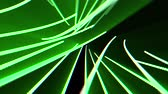 spotlight : abstract neon lines lights rotating seamless loop motion graphics animation background new quality techno style colorful cool nice beautiful 4k stock video footage
