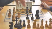 checkmate : chess game clock in a sporting club