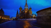 blessed : Amazing Saint Basils Cathedral in Red Square, Moscow, symbol of the country