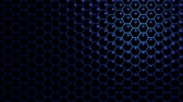 3d illustration honeycomb texture colored. Abstract background for business presentation. Animation texture of drops in motion