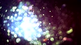 aberração : Light leaks through glass with beautiful flares. Seamless loop abstract motion background. 4k Vídeos