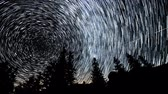 nordpol : Time lapse of Star trails in the night sky. 4K Videos