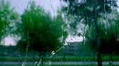 циклон : Storm, rain drops, Hurricane, typhoon, shower, storm, background Стоковые видеозаписи