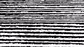 artifacts : White Noise Motion On Black Background. Flicker Dust. Glitch Error Video Damage. Loop Unique Design Abstract Digital Animation. Stock Footage