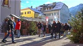 neuf : the traditional Christmas market in San Candido, Italy