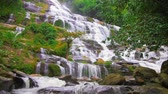 inthanon : Mae Ya falls in Chiang Mai Thailand with sound of waterfall