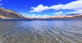 ladakh : Transparent water of Tso Moriri lake in Ladakh, India