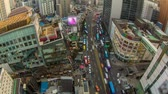 hodina : Seoul City 201. Time lapse of traffic and architecture in Seoul, Korea.