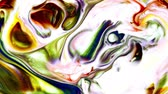 Abstract Colorful paint turbulence Explode
