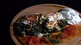 koperek : Spinach with Eggs Wideo