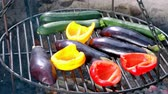 pepř : Roasted vegetables on the grill with fire Dostupné videozáznamy
