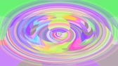 soluk : Abstract animated video background in fine pastel colors, oval shape extending from center to edge, beautiful joyful colors