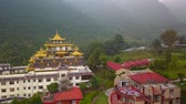 adorar : Buddhist Monastery, Kathmandu valley, Nepal - October 16, 2017