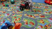 educar : Children play in the playroom in the kindergarten, In Kiev, Ukraine, 11.25.2017