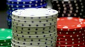 Stacked Casino-Poker-Chips rotierend - loopable