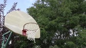corte : Basketball Miss on an Outdoor Court 01