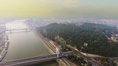 macar : Aerial footage Budapest, Hungary.