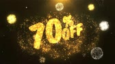 rebate : 70% off Celebration, Wishes, Greeting Text on Golden Firework