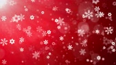 falling stars : Christmas Background (Red Theme), With Glittering Snowflakes Falling And Lights. Snow Snowfall Snowflake Particles Seamlessly Loop Black Alpha Green Screen Animation