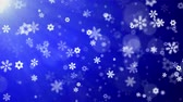falling stars : Christmas Background (Blue Theme), With Glittering Snowflakes Falling And Lights. Snow Snowfall Snowflake Particles Seamlessly Loop Black Alpha Green Screen Animation