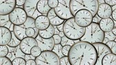 dvanáct : elusive time,a large number of hours with running arrows