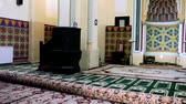 mosaico : Interior de Carol I Mosque en Constanta Rumania. Archivo de Video