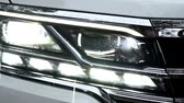 halogen headlamp : Modern car headlights. Exterior detail.