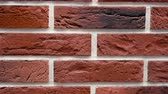 Pan red decorative brick your home. Brickwork background. Unique drawing block. Clear place for your isolated text pattern. Empty space your title copy space. Copyspace logo blank design. Full frame