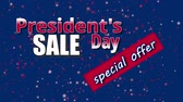 presidente : Presidents Day Sale, special offer text