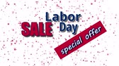 ulusal bayrağı : Labor Day Sale, special offer text