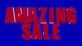 oran : Amazing sale, up to 50% off, only this week promotional video Stok Video