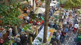FUNCHAL, MADEIRAPORTUGAL - OCTOBER 18: Old fruit market on October 18, 2014 in Funchal