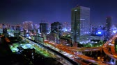 colorful : 4K Timelapse Movie - Tokyo bayside night scape.