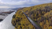 nyírfa : Richardson highway aerial
