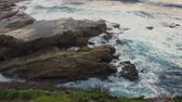 ragged : landscape at Cathedral Rock, Kiama Australia.
