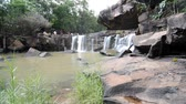 Waterfall at chaiyaphum in Thailand