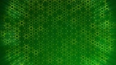 vytepat : Dark Green Circles pattern. Modern render smooth animation Abstract background with animation of wave mosaic of Circles. Technological, Technology background