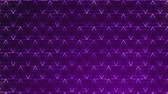 vytepat : Dark Purple Triangles pattern. Modern render smooth animation Abstract background with animation of wave mosaic of Triangles. Technological, Technology background Dostupné videozáznamy