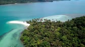 Koh Chang small island Стоковые видеозаписи