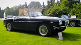 prototype : 1954 Alfa Romeo1900 Cabrio by Touring Visconteo Tipo 55 Prototyp classic car on display during the 2014 Classic Days event at Schloss Dyck.