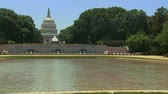 terrorist : Washington Capitol Dome Building with Pool