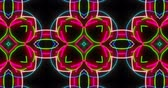 Abstract kaleidoscope patterns in dynamic seamless animation. Hypnotic motion background - perfect for club, concert, fashion, video, show and events.
