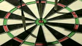 преуспевать : Three darts including a bulls eye