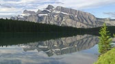 yansıma : Mountain reflection in lake, Banff, Canada