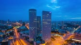 life : Tel Aviv Skyline - From Night To Day Time Lapse