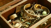 jewelry box : Searching in a Jewelry Box Stock Footage
