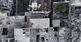 míssil : Damascus suburbs destroyed in aerial view, Syria