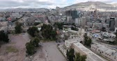 islam : the city of damascus in aerial view, Syria