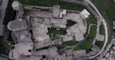 cavaliere crociato : Krak of the knight in aerial view, syria