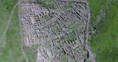 문명 : aerial view of Ugarit archaeological site in syria